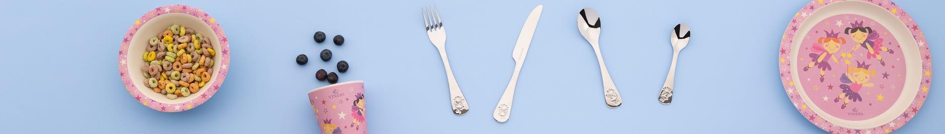 Kids Dinnerware & Cutlery