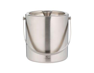Barware 1.5 Litre Silver Double Wall Ice Bucket