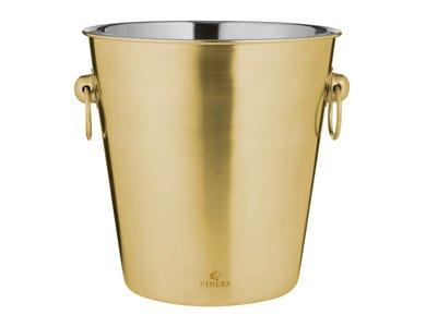 Viners Barware 4 Litre Gold Champagne Bucket