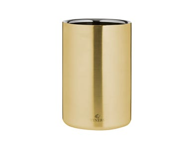 Barware 1.3 Litre Gold Double Walled Wine Cooler