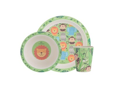 Jungle 3 piece Kids Dinnerware